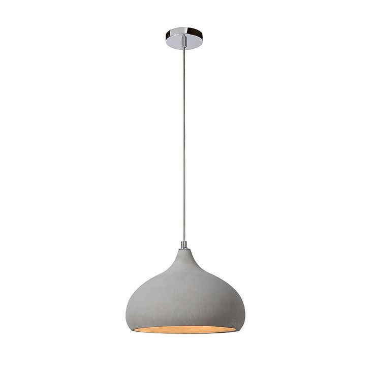Lucide Solo Hanglamp Taupe Druppel - Ø 28 cm #vtwonencollectie