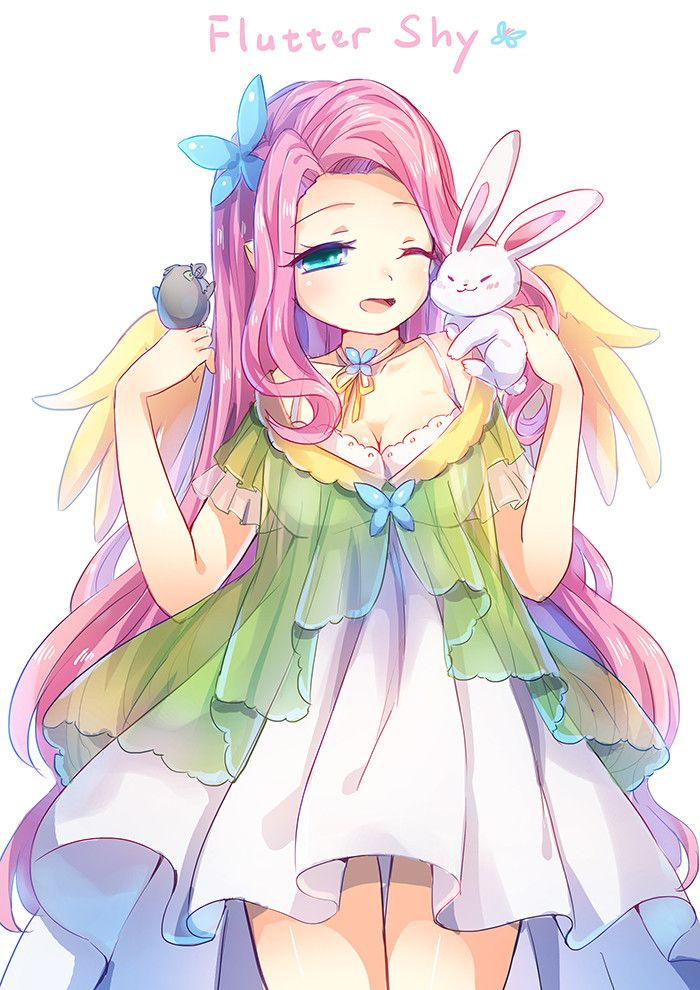 My Little Pony, Fluttershy, by Emia (pixiv:2888863)