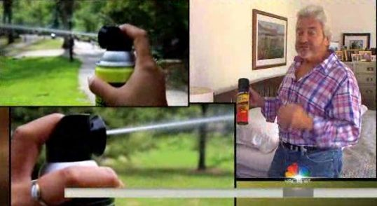 NBC's 3 Steps for Home Invasion Defense: Use Wasp Spray Illegally, Treat Invader 'Like Royalty' and Don't Own a Gun   Unbelievable!
