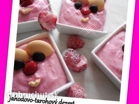 Jahodovo-tvarohový dezert