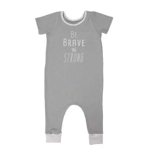 Be Brave Jersey Romper