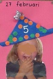 verjaardag vieren school