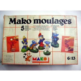 Mako moulages : je n'avais jamais la patience d'attendre que le plâtre soit bien sec pour démouler !