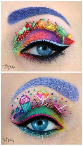 Yummmmy eyeshadow art!