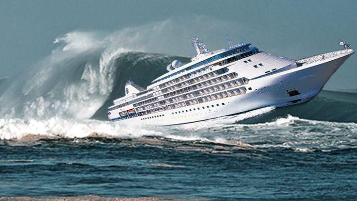 TOP 11 Barcos en Tormentas OLAS MONSTRUOSAS captadas en camara  ◆ COMPIL...