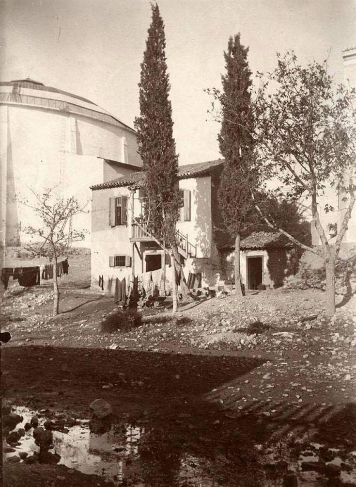 Αθήνα, τμήμα του Πανοράματος Θών, φωτογράφος Οδυσσέας Φωκάς, περίπου 1900, αρχείο Εθνικής Πινακοθήκης- Μουσείου Α. Σούτζου