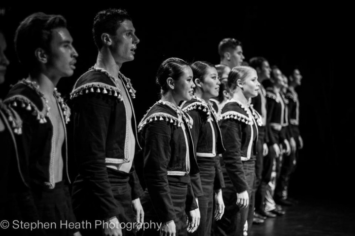 Students from WA Academy of Performing Arts performing FUGUE by Dancenorth Artistic Director Raewyn Hill