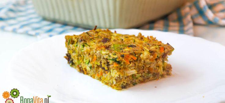 Zapiekanka z kaszą gryczaną i warzywami