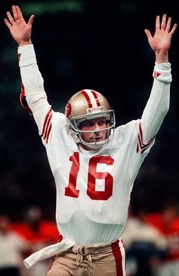 Joe Montana After him and Steve Young the niners miss another like them.