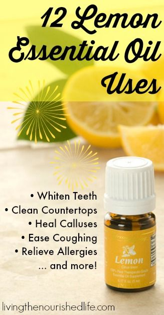 12 Lemon Essential Oil Uses for Dry Skin, Allergies, Liver Health, and More - The Nourished Life