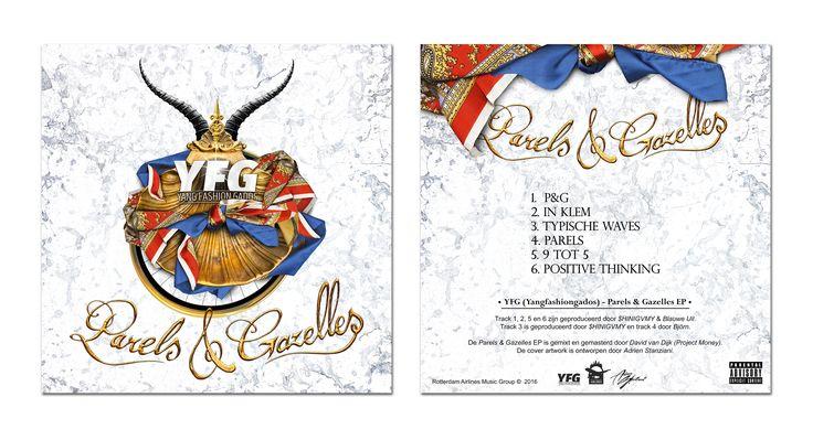 Cover + Tracklist: YFG - Parels & Gazelles EP [14-12-2016]