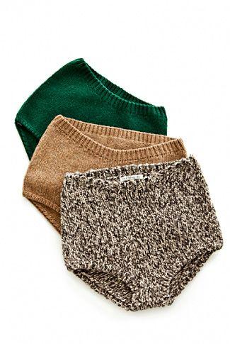 Knitted underwear *hehe*
