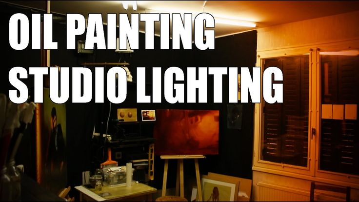 Oil Painting Studio Lighting  10 tips to have good light conditions for... | Artistsu0027 Helpers | Pinterest | Painting studio Oil and Paintings & Oil Painting Studio Lighting : 10 tips to have good light ... azcodes.com