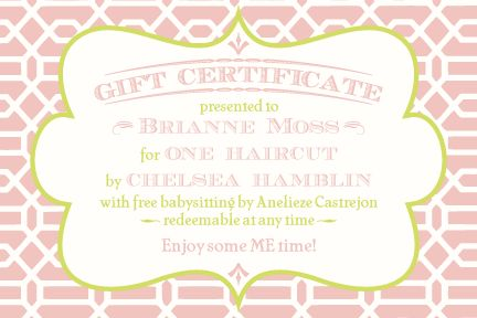 29 best Printable Gift Certificates images on Pinterest ...