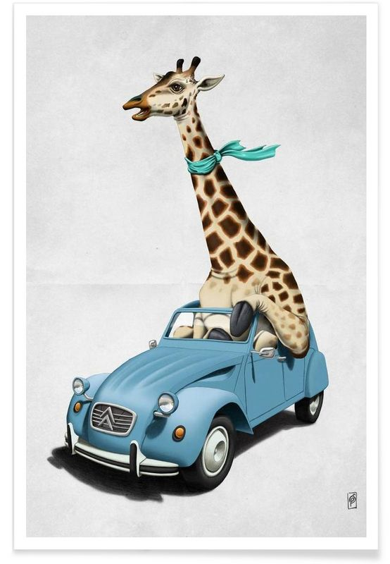 Riding high as Premium Poster by Rob Snow | Creative | JUNIQE