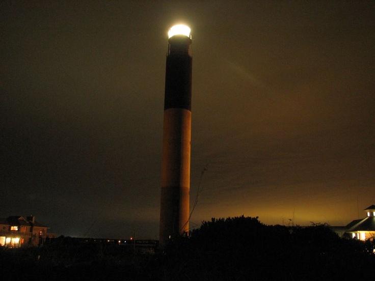 Oak Island Lighthouse, Cape Fear River, North Carolina