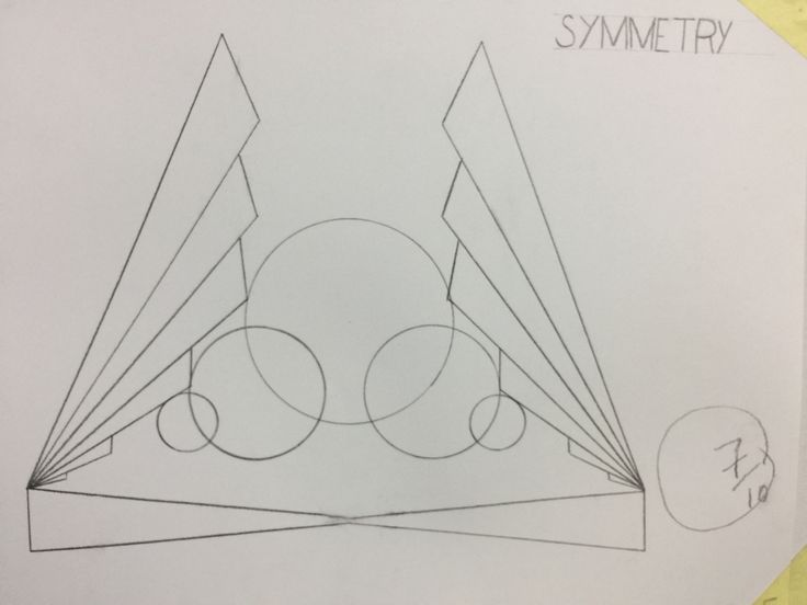 """Symmetry"" design, it was so hard to achieve that as we got confused between a 3 principles; Symmetry, Mirror and shifting! And until today, we aren't sure about our understanding of those!"