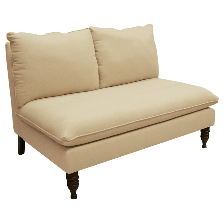 $650 Pillowback Chaise Lounge - Loveseats at Hayneedle