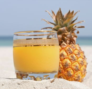 Un #cocktail Ananas fizz plaisant, #savoureux, frais et légèrement alcoolisé.