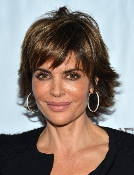 Medium Hair Styles For Women Over 40 oblong face | Short Layered Hairstyles 2013, Lisa Rinna | Popular Haircuts