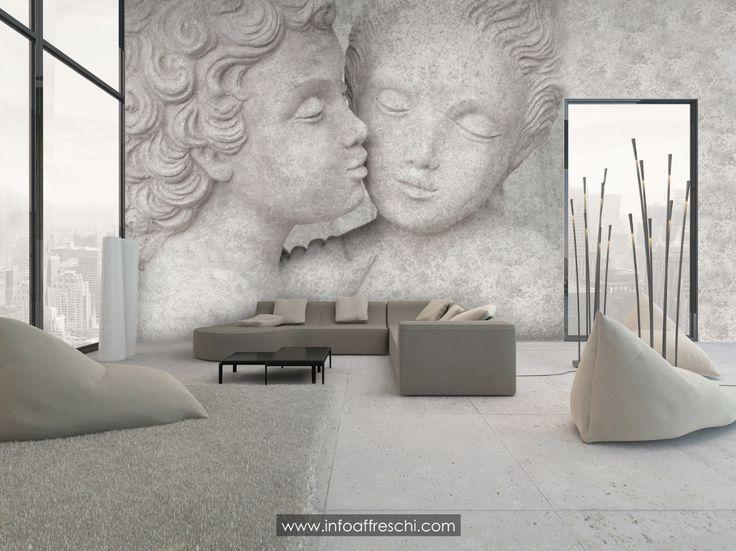 #fresco  #affresco #fresque #wallpaper #handmade #madeinitaly #mural #luxury #italianart #art #architecture #homedecoratingideas #interiordecorating #homedecor #decorative #walldecor #design #interiordesign #homedesignideas #moderndesign #wallart