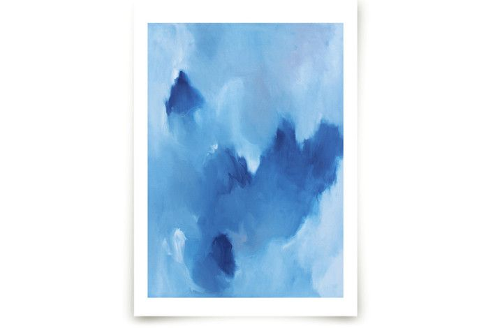 Blue Drift by Megan Kelley at minted.com