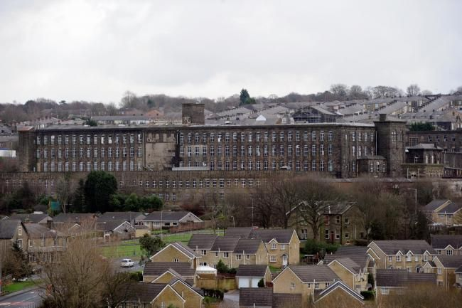 SIGHT FOR SORE EYES: Brierfield Mills, which could form the centrepiece of a new…
