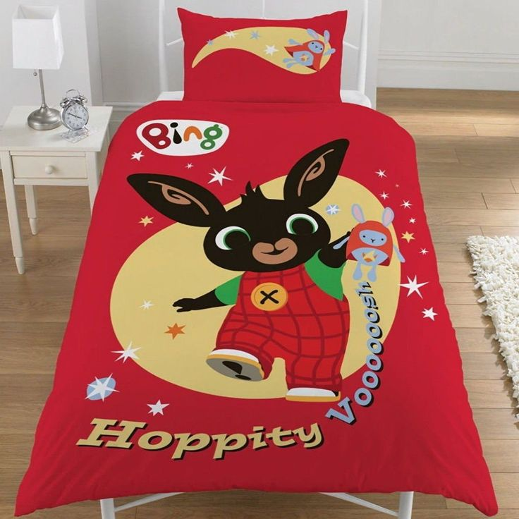 Bing Bunny Single Duvet Cover Quilt Cover Bedding Set Cotton //Price: $15.76 & FREE Shipping //     #bedding