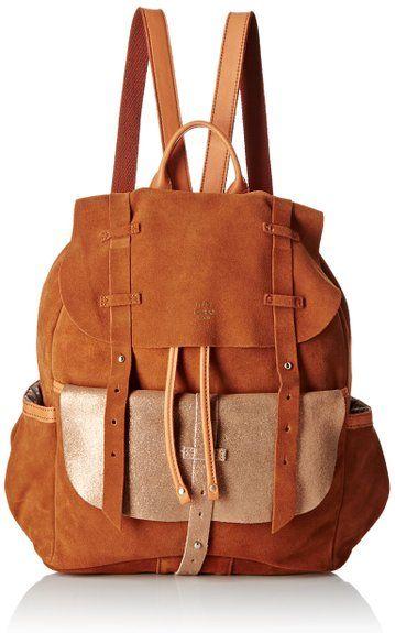 Mila Louise Women's Juliet Croute/Spark Camel Backpack Handbag Brown brown (Camel) One Size