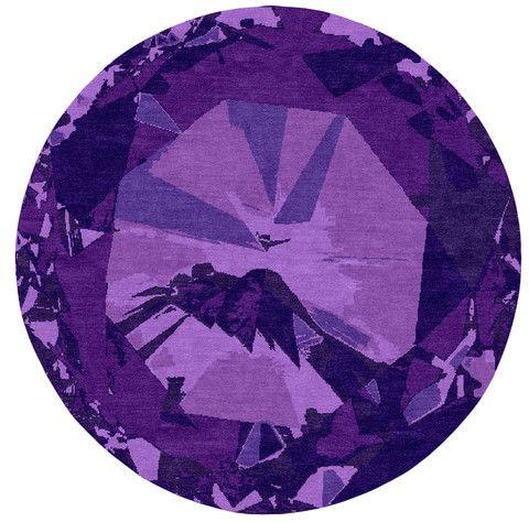 Diamond Orchid Modern Rug Design Kush Handmade Rugs
