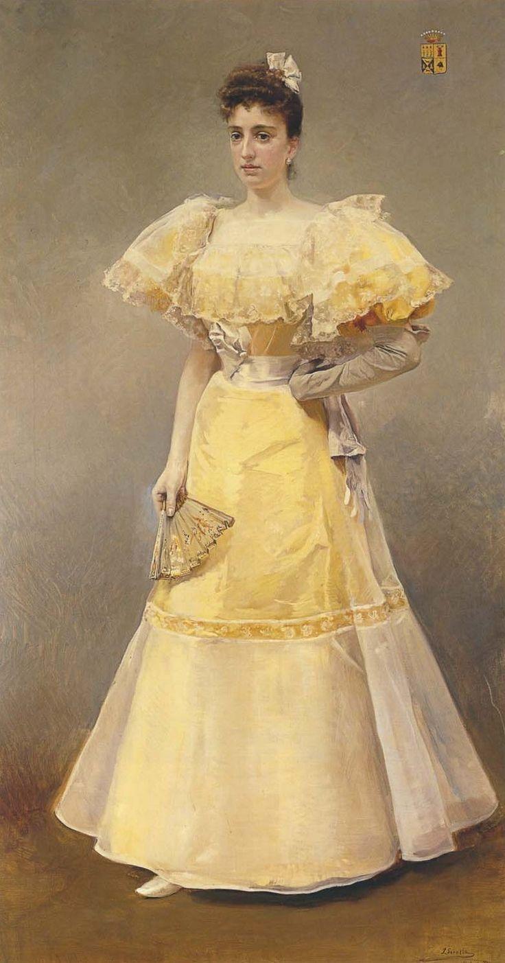 Joaquín Sorolla - Retrato de la condesa de Santiago
