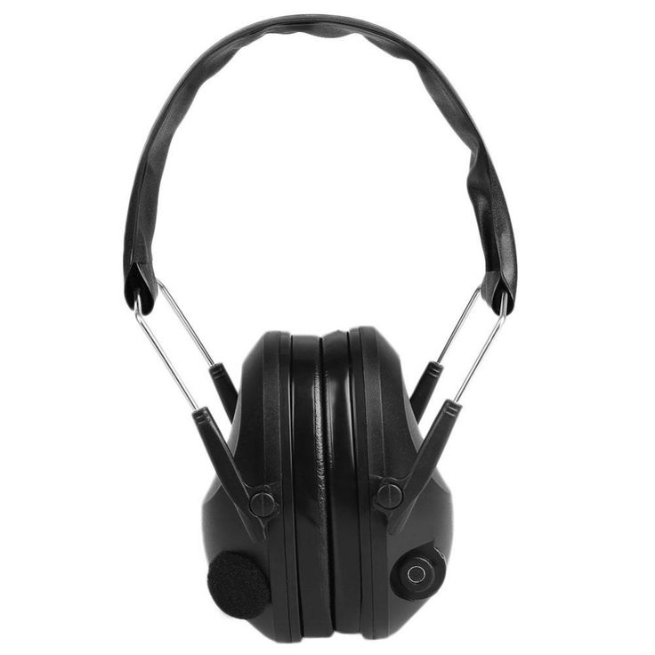 Tactical Anti-Noise Impact Electronic Earmuff Fold Ear Hearing Earmuffs 21SNR