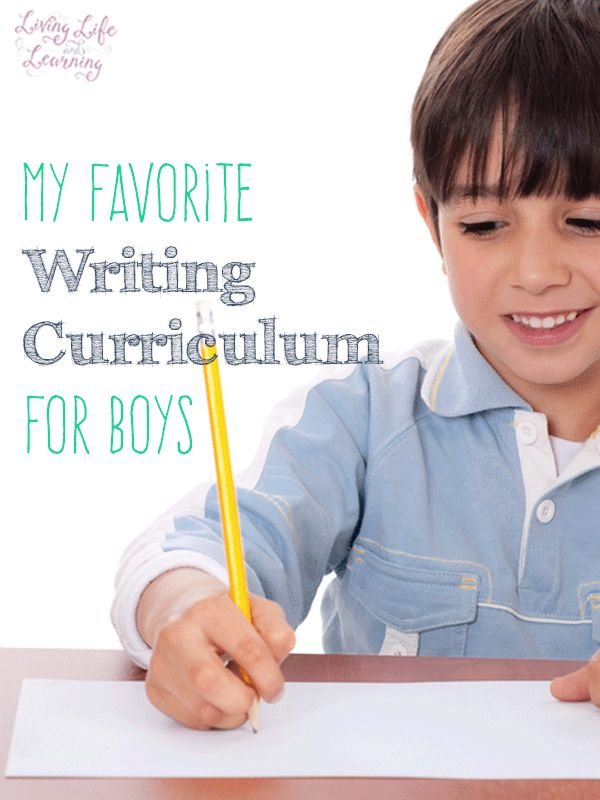 Awesome homeschool resources - my favorite writing curriculum for boys