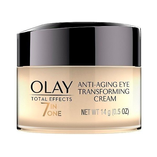 Olay Total Effects Anti-Aging Eye Cream Treatment . Oz ($22) ❤ liked on Polyvore featuring beauty products, skincare, anti aging skincare, antiaging skin care, anti aging skin care, dark circle eye treatment and eye skin care