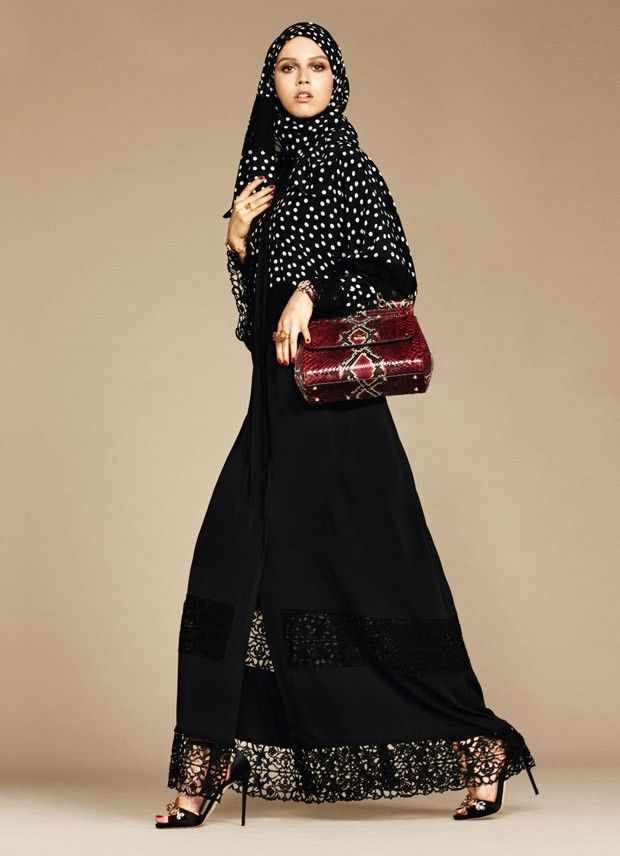 Middle Eastern Couture Collections : Abaya Collection