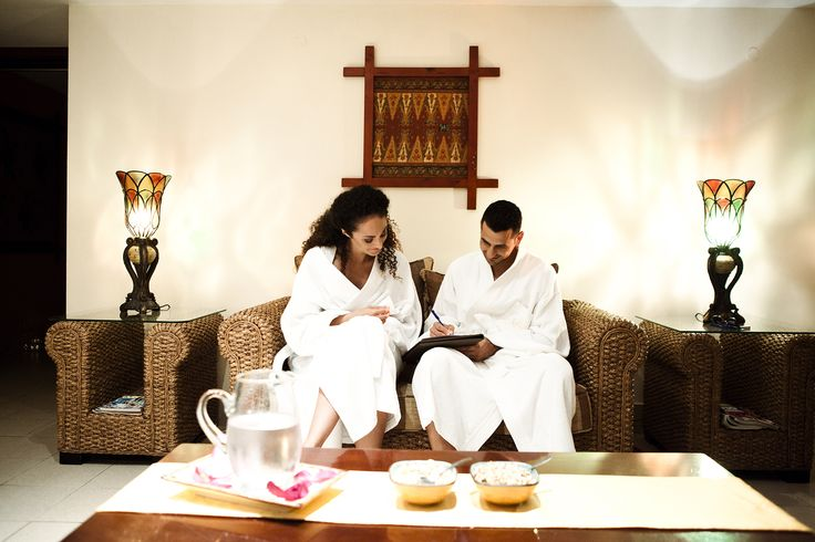 A couple's masage for the newlyweds at the Le Grand Spa #Spa #Honeymoon #Hotel #Mediterranean #Malta