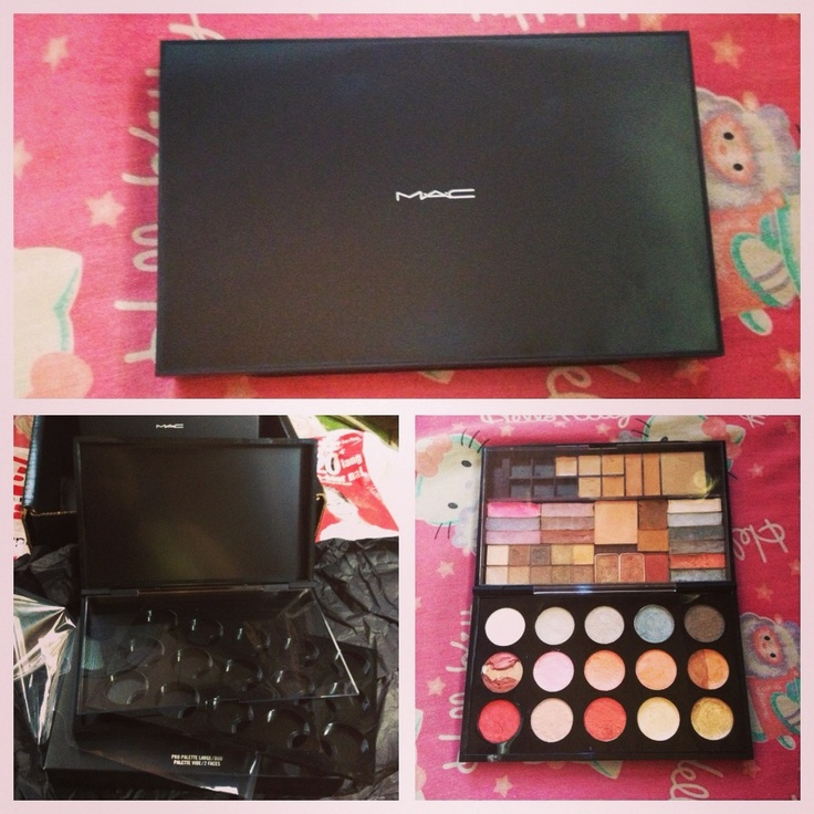 MAC Pro Palette Large/Duo filled! :)