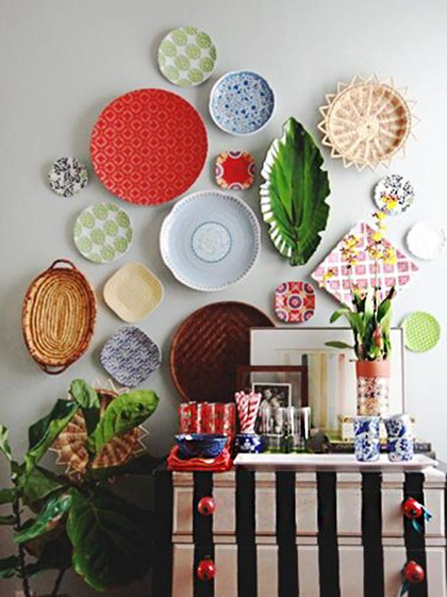 Ideas que mejoran tu vida casa platos decorativos - Platos decorativos pared ...