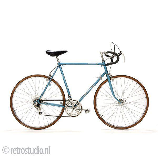 Vintage Sport racefiets - Klik op de afbeelding om het venster te sluiten