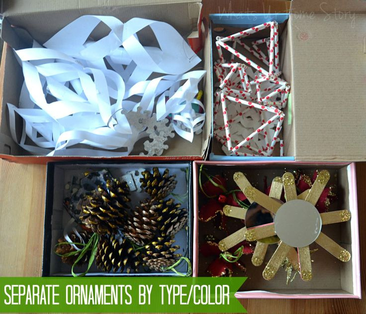 1000+ Images About Christmas Organization And Storage On