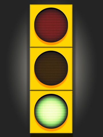 Use a free iPad stoplight app to help pace students and keep them on task.