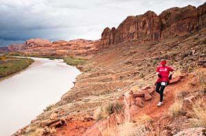 Half Marathon in Moab UT!
