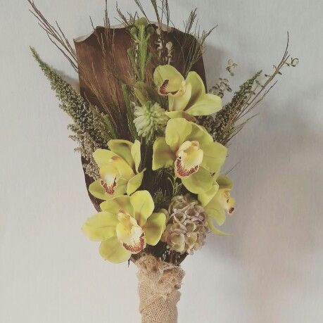 Corporate flowers by flora and fauna events. Cymbidium orchids are so beautiful.