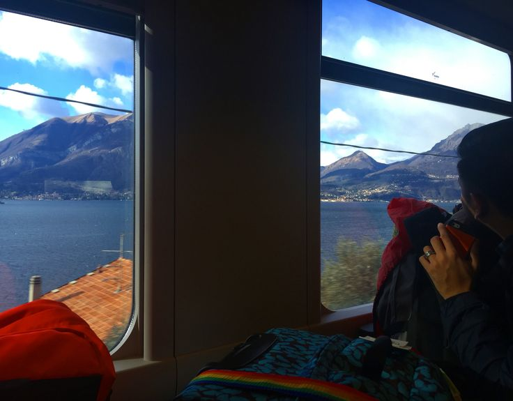 Train ride with an awesome view out the window