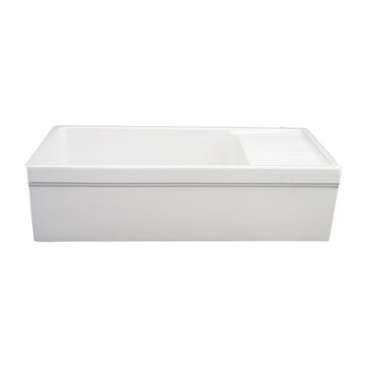 kitchen sinks miami whitehaus collection quatro alcove 20 in x 36 in white 3029