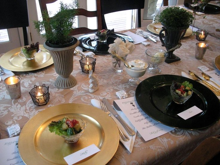 Prom Dinner Party Ideas Part - 22: A Dinner Party For High School Seniors Hosted By One Of The Teens Moms Who  Owns A Bu0026b. She Has Done It For Them Every Year Of High School And This Is  ...