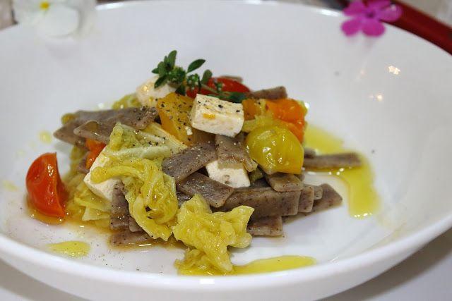 Vegano per amore - ricette vegane: PIZZOCCHERI ESTIVI