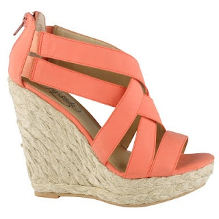 peach  everyone needs colorful wedges this Spring! (well I say every Spring)