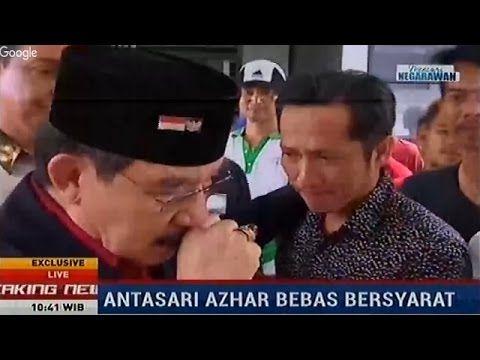 Antasari Azhar Bebas, Warga Binaan Lapas Tangerang Menangis Melepas Kepe...