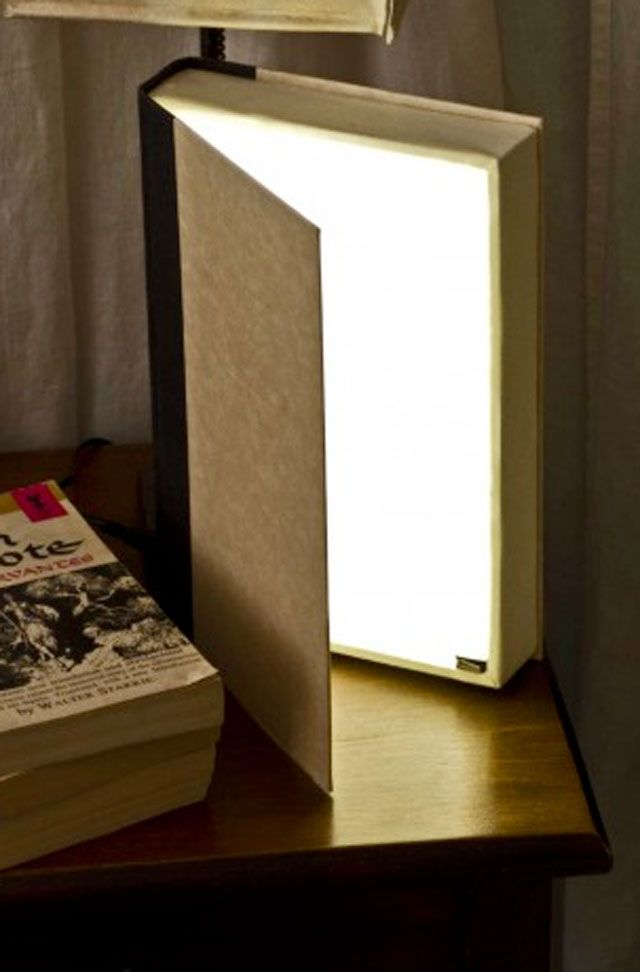 A custom DIY book light is an incredible gift for any book-obsessed person